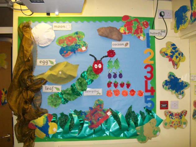 Minibeats Class Display, class display, Minibeasts, Caterpillar, Classroom Display, Butterfly, Display, Early Years (EYFS), KS1 & KS2 Primary Resources