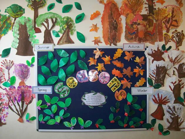 Season Display, classroom display, class display, Autumn, Seasons, weather, leaves, the seasons, colour, Early Years (EYFS), KS1 & KS2 Primary Resource