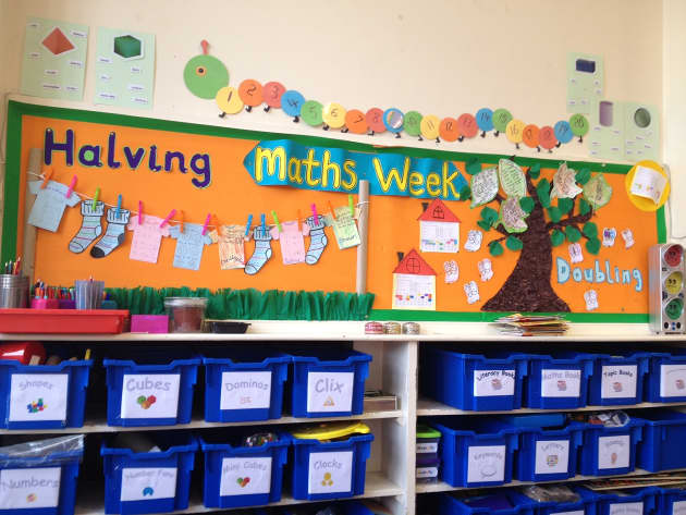 Maths Week, Maths, Halving, Doubling, Levels, Numbers to 20, Display, Classroom display, Early Years (EYFS), KS1 & KS2 Primary Resources