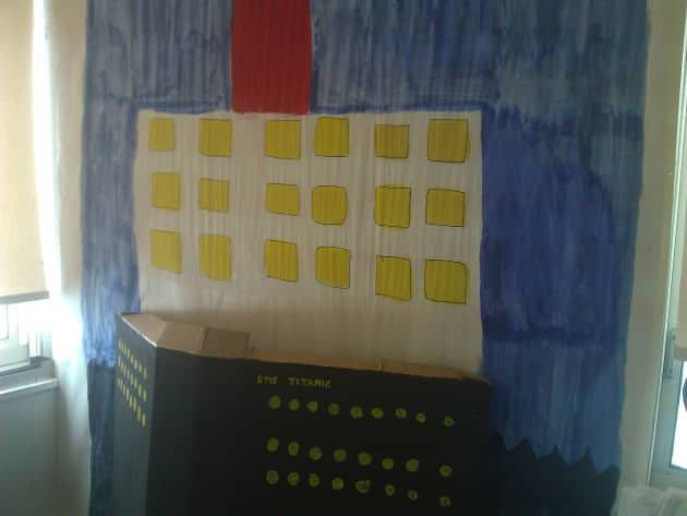 Role Play, Titanic, Passenger Liner, Ship, Sinking Ship, Ice burg, Display, Classroom display, Early Years (EYFS), KS1 & KS2 Primary Teaching Resources