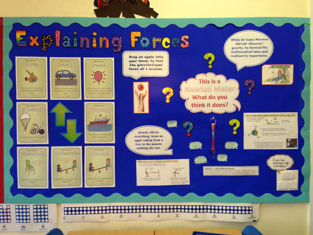 Science Classroom Decorations For Primary ~ Science and investigation forces display classroom