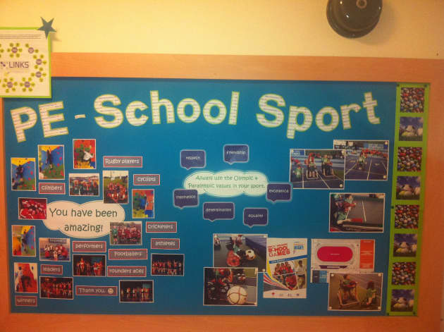 pe school sport pshe rules display classroom display. Black Bedroom Furniture Sets. Home Design Ideas