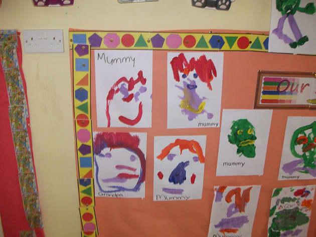 Art & Colour, Art Gallery, Art, Paint, Painting, Mummies, Paintings, Display, Classroom display, Early Years (EYFS), KS1 & KS2 Primary Teaching Resources