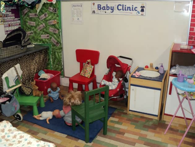 Role Play Corner, Baby Clinic, Babies, Doctors, Prams, Chair Health, Display, Classroom Display, Early Years (EYFS), KS1 & KS2 Primary Teaching Resources