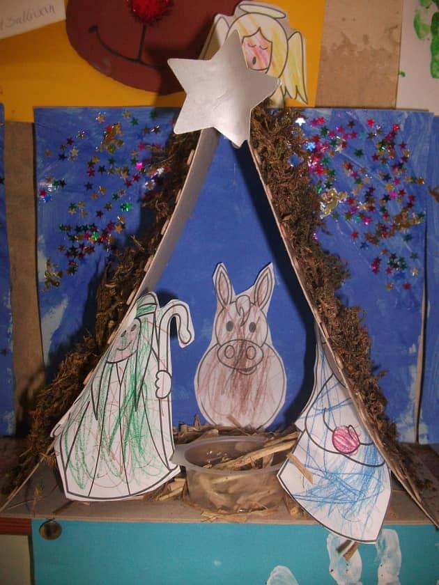 Christmas, The Inn, Shepard, Mary, Stars, North Star, Donkey, Manger, Display, Classroom Display, Early Years (EYFS), KS1 & KS2 Primary Teaching Resources