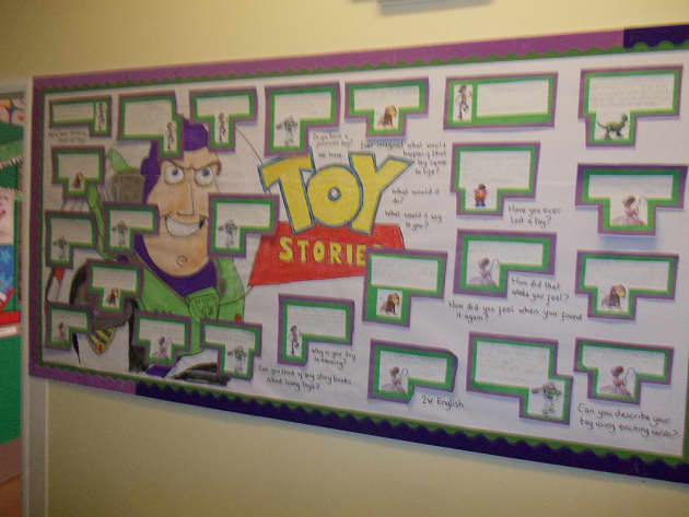 Stories Amp Tales Toy Stories Stories Display Classroom