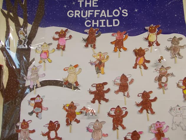 Stories Amp Tales The Gruffalo S Child Display Classroom