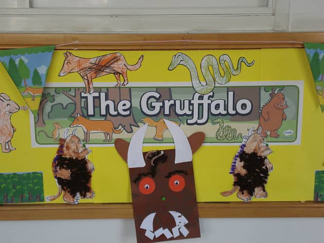 Stories And Tales The Gruffalo Story Display Classroom