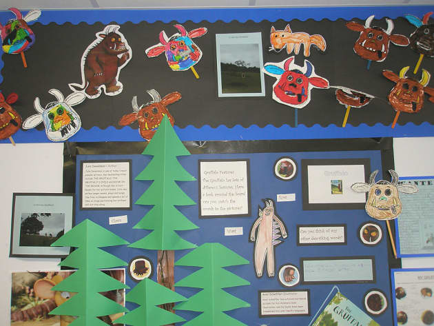 Stories & Tales, The Gruffalo Story, Trees, Pictures, Drawings, Draw, Display, Classroom Display, Early Years (EYFS), KS1 & KS2 Primary Teaching Resources