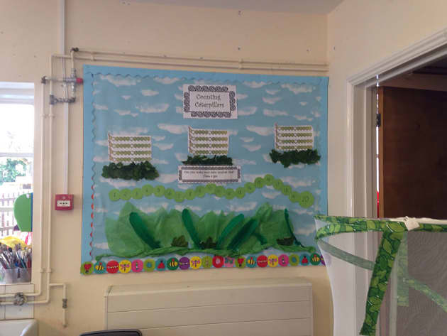 Numeracy, Counting Caterpillar's, Display, Mathematics, Sequence, Numeracy, Classroom Display, Early Years (EYFS), KS1 & KS2 Primary Teaching Resources