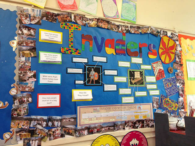 History, Invaders, Invaders & Settlers, Timeline, Vikings, Saxons, Display, Classroom Display, Early Years (EYFS), KS1 & KS2 Primary Teaching Resources