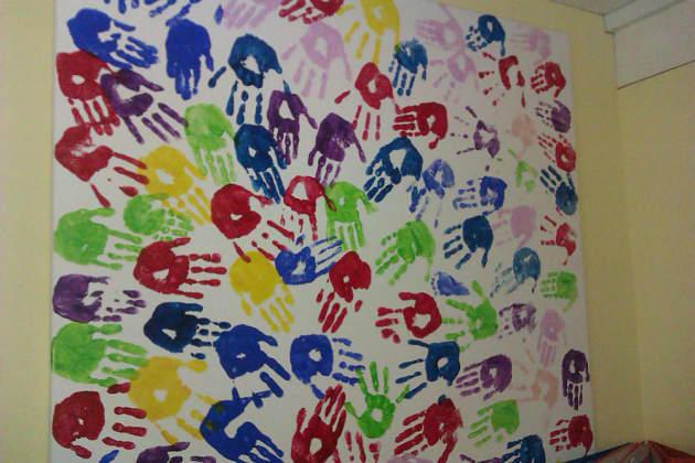 Art amp Colour Class Painting Hands