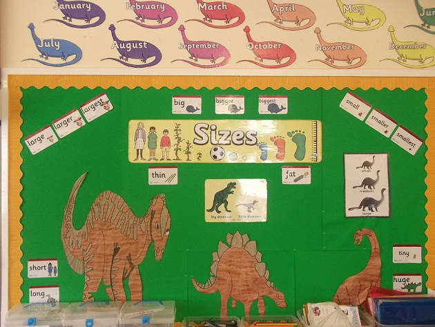 Dinosaurs, Sizes, Large, Largest, Big, Short, Smaller, Smallest, Thin, Bigger, Classroom Display, Early Years (EYFS), KS1 & KS2 Primary Teaching Resources