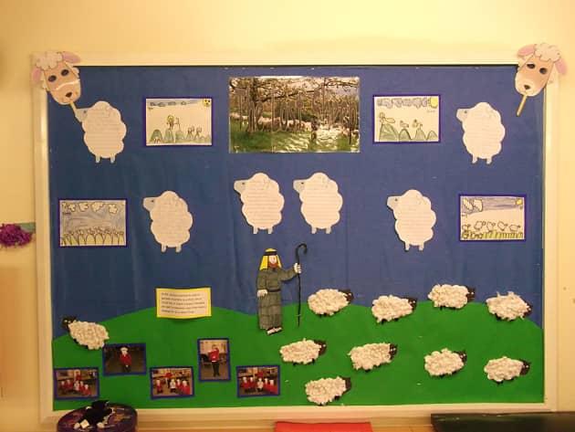 Religion, Joseph, Sheep, Sheep Farmer, The Bible, Christianity, Jesus, Display, Classroom Display, Early Years (EYFS), KS1 & KS2 Primary Teaching Resources