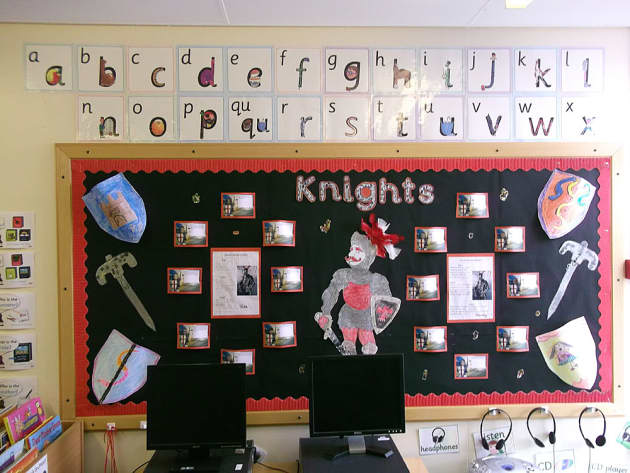 history  knights  soldiers  castles  display  classroom display