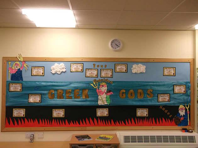 History Greek Gods Greece Poseidon Display Classroom