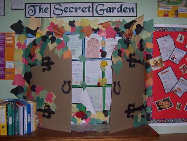 The Secret Garden Display Classroom Displays Secret