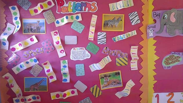 Pattern Display Photo, pattern, shapes, stripes, spots, repeating pattern