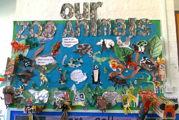 Our Zoo Animals Display Classroom Displays Animal Zoo