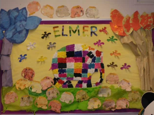 Elmer Display Classroom Display Elmer Elephant Elmer The