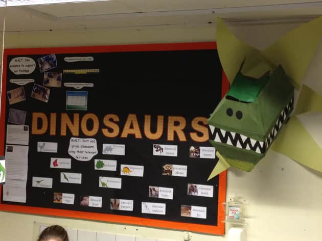 Dinosaurs Display classroom displays dinosaur trex