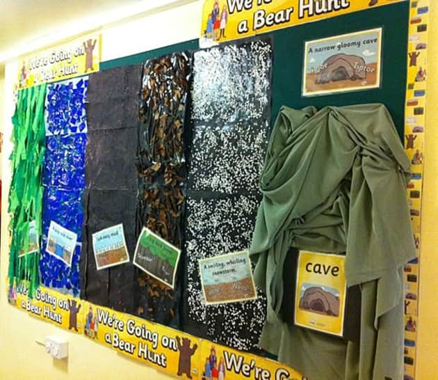 Bear Hunt Display Classroom Display Bear Hunt Forest