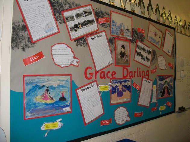 Grace Darling Display Classroom Display Lighehouse Daughter