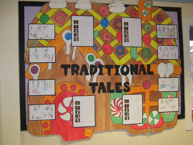 Traditional Tales Stories Display, classroom display, class display, Story, traditional tales, stories, book, Early Years (EYFS),KS1& KS2 Primary Resources