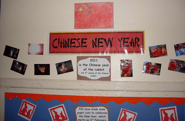 Chinese New Year Dragon Display, classroom display, class display, Chinese, culture, new year, dragon, Early Years (EYFS), KS1 & KS2 Primary Resources