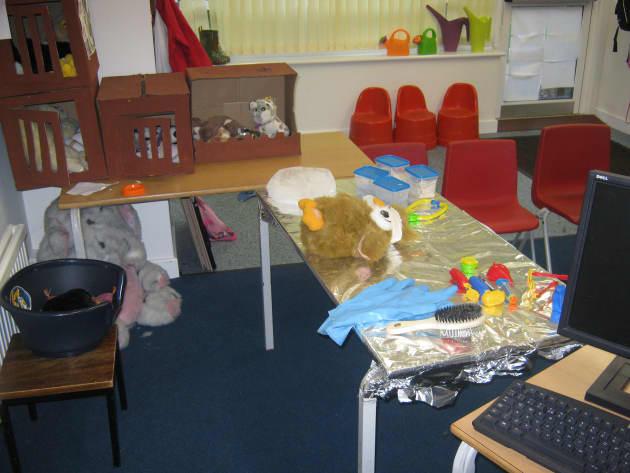 Vet Role Play Display Classroom Display Vet Animal