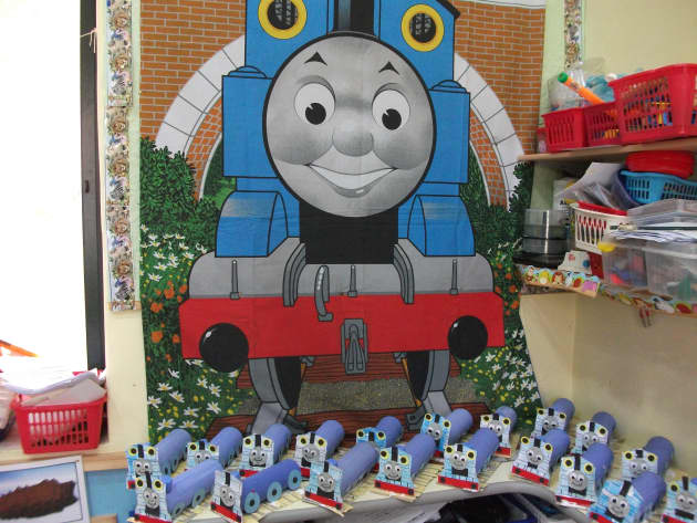 Thomas the Tank Engine Display, classroom display, transport, train, story, book, thomas the tank engine, Early Years (EYFS), KS1 & KS2 Primary Resources