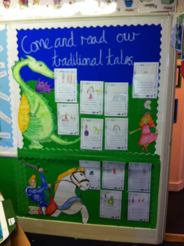 Traditional Tales Display, classroom display, class display, Story, nursery rhyme, reading, rhymes, Early Years (EYFS), KS1 & KS2 Primary Resources