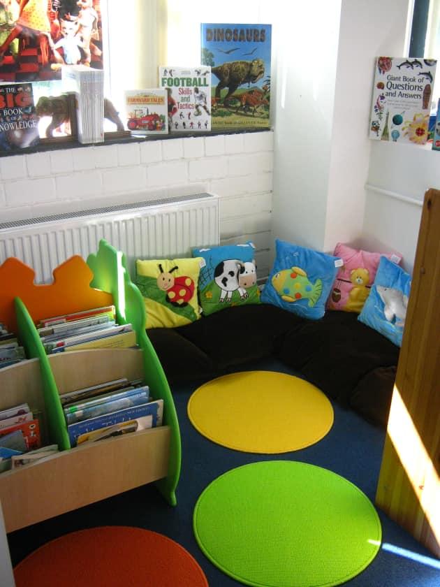 Reading Corner Display Classroom Display Story Books