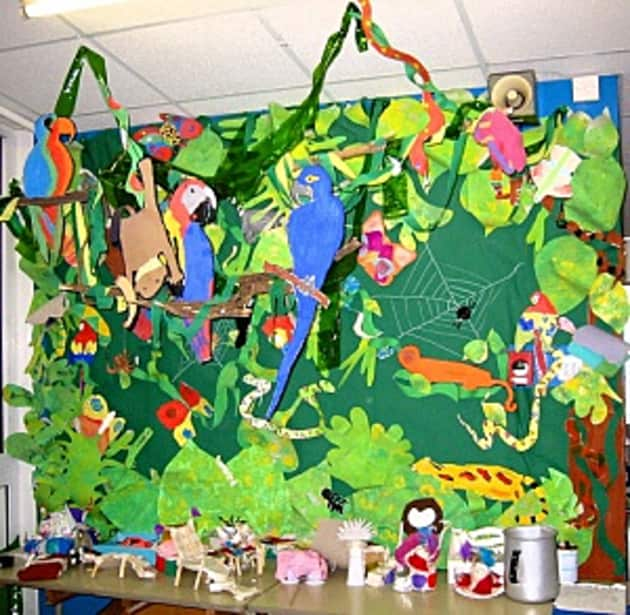Jungle Display Classroom Display Class Display Jungle