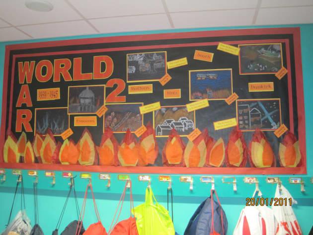 Outdoor Classroom Ideas Year 1 ~ World war two display classroom class