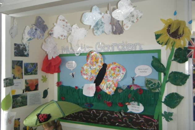 magic garden display classroom display - Garden Design Ks2