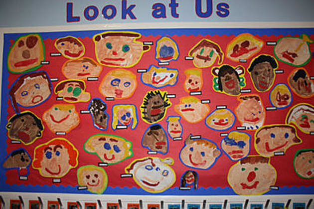 Look At Us Display, classroom display, class display, Ourselves, All About Me, bodies, growth, faces, art, Early Years (EYFS), KS1 & KS2 Primary Resources