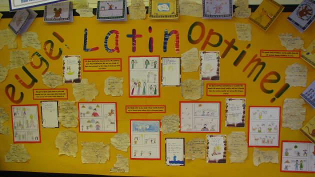 Latin Display, Classroom Display, class display, history, old, past, Latin, language, euge, optimum, Greek, Early Years (EYFS), KS1 & KS2 Primary Resources