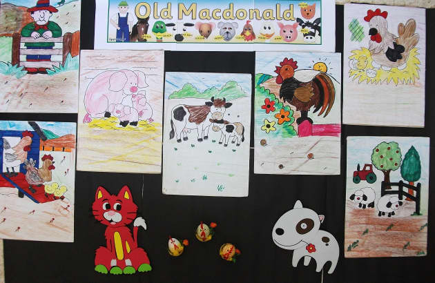 Old Macdonald Display, classroom display, class display, Story, song, reading, rhymes, Farm, animals, Early Years (EYFS), KS1 & KS2 Primary Resources