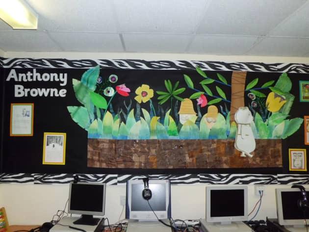 Anthony Browne Display Classroom Display Author Children