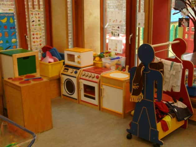 Classroom Kitchen Ideas ~ Cooking role play display classroom home corner