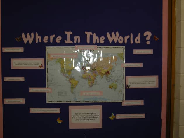 Where in the world display classroom display geography world where in the world display classroom display gumiabroncs Images