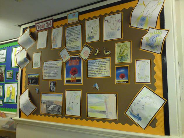 Classroom Rules Design ~ Salvador dali display classroom artist art