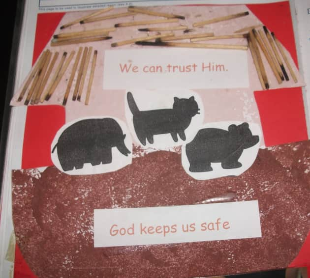 God Keeps Us Safe Display, classroom displays, Class Display, trust, creative, noahs ark, religion,Early Years (EYFS),KS1 & KS2 Primary Teaching Resources