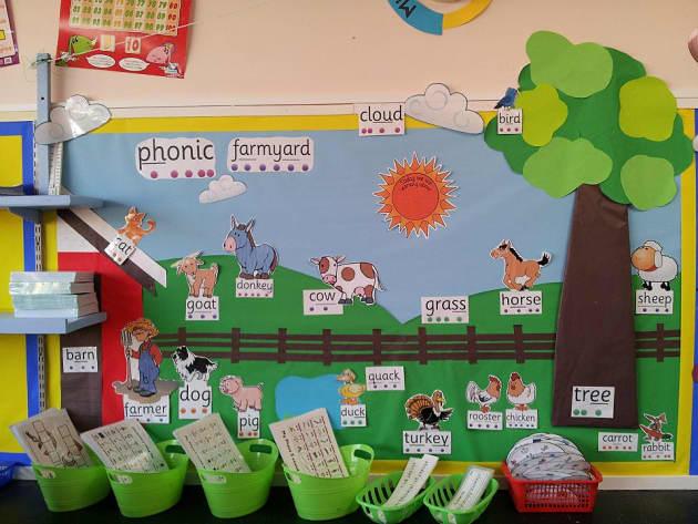 Phonic Farmyard Display  Classroom Display  Phonics  Keywords