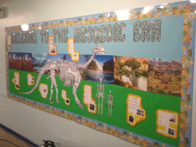 Outdoor Classroom Design ~ Mesozoic era display classroom