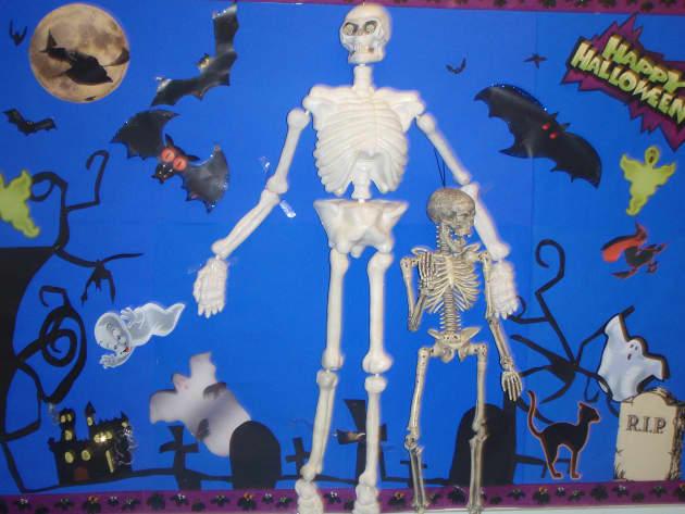 Halloween Festival Display, classroom display, class display, halloween, skeleton, pumpkin, ghost, scary, Early Years (EYFS),KS1 & KS2 Primary Resources