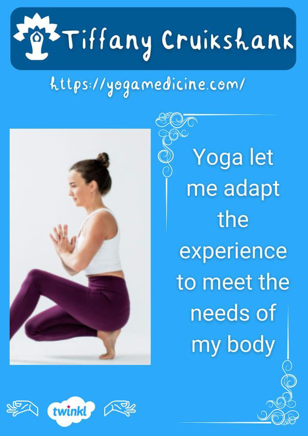 Tiffany Cruikshank yogi