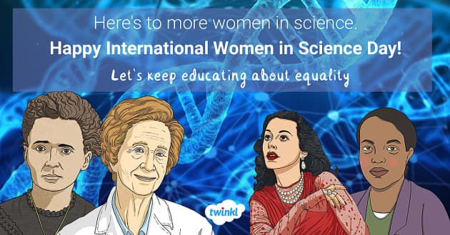 Women in Science graphic