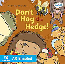 Don't Hog the Hedge! - book, teaching resources, story, cards, mat